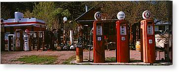 Old Frontier Gas Station, Embudo, New Canvas Print by Panoramic Images