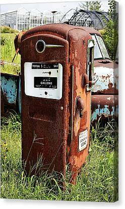 Old Gas Pump Canvas Print by Paul Mashburn