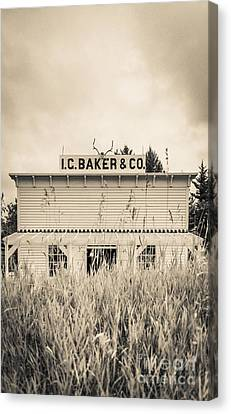 Old General Store Canvas Print by Edward Fielding