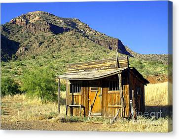 Old General Store - Salt River Canyon Canvas Print by Douglas Taylor
