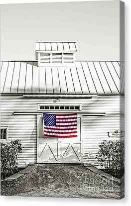Fourth Of July Canvas Print - Old Glory Circa 1776 by Edward Fielding