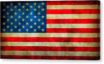 Old Glory Canvas Print by Dan Sproul