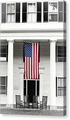 Fourth Of July Canvas Print - Old Glory Est. 1776 by Edward Fielding