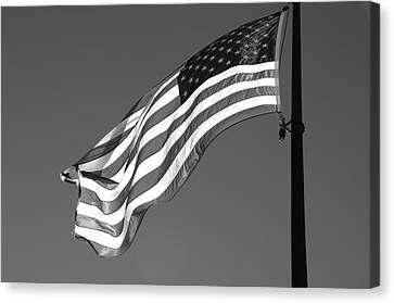 Canvas Print featuring the photograph Old Glory by Ron White