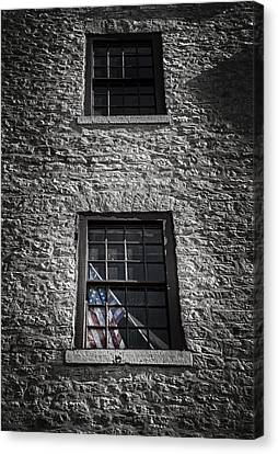 Old Glory Canvas Print by Scott Norris