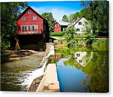 Old Grist Mill  Canvas Print by Colleen Kammerer