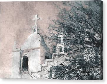 Old Guadalupe Church Canvas Print by Julie Lueders