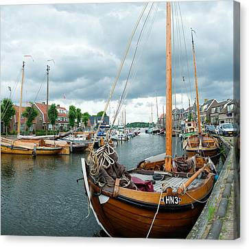 Old Harbor Canvas Print by Hans Engbers