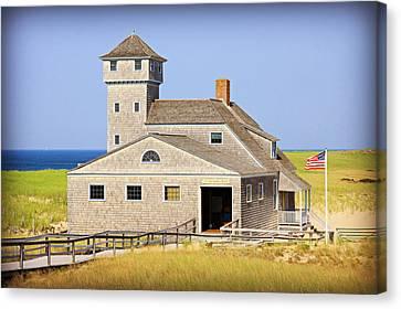 Old Harbor Lifesaving Station--cape Cod Canvas Print by Stephen Stookey