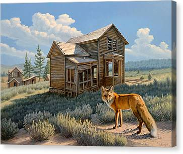 Old Haunts  Canvas Print by Paul Krapf
