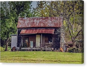 Old Haus Canvas Print by Kelly Kitchens