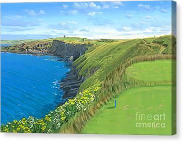 Old Head Golf Club Ireland Canvas Print