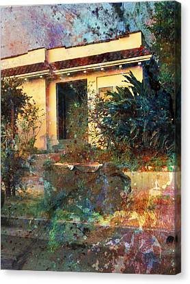 Canvas Print featuring the photograph Old Home Art  by John Fish