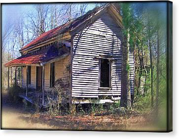 Canvas Print featuring the photograph Old Home Place by Larry Bishop
