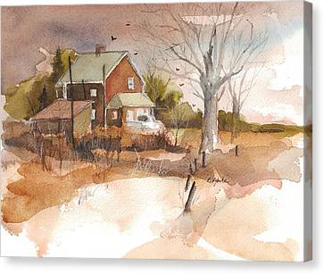 Old Home Place Canvas Print by Robert Yonke