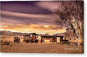 Old Homestead Canvas Print by Robert Bales