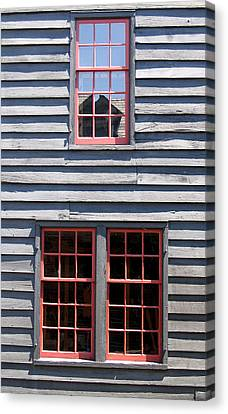Canvas Print featuring the photograph Old House Greenfield Village Michigan by Mary Bedy