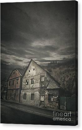 Old House Canvas Print by Jelena Jovanovic