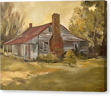 Old House Canvas Print by Lindsay Frost