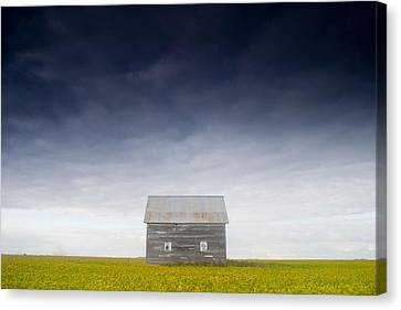 Old House, Manitoba, Canada Canvas Print by Mirek Weichsel