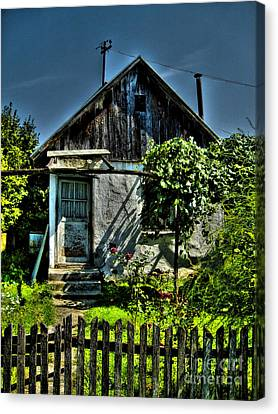 Old House Canvas Print by Nina Ficur Feenan