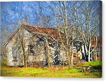 Old House Canvas Print by Savannah Gibbs