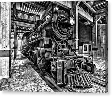 Old Iron Horse Canvas Print