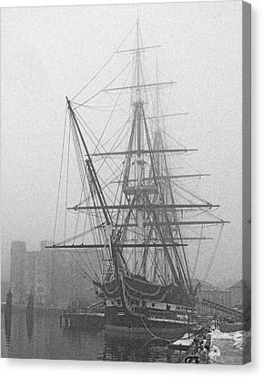 Old Ironsides 1001 Canvas Print