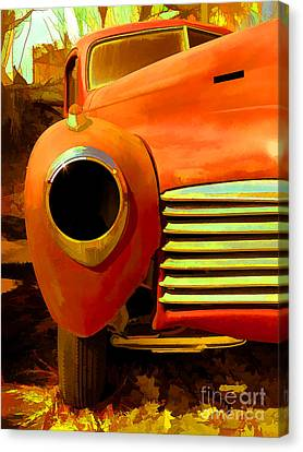 Old Junker Canvas Print