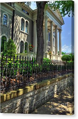 Old Kentucky Homes 1 Canvas Print by Mel Steinhauer