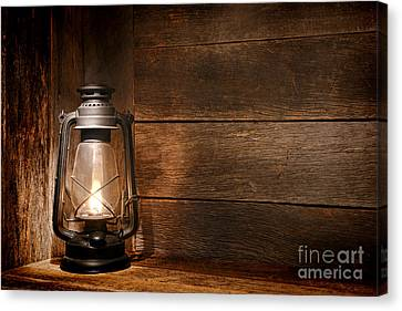 Old Kerosene Light Canvas Print