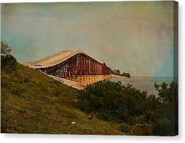 Old Keys Bridge Canvas Print