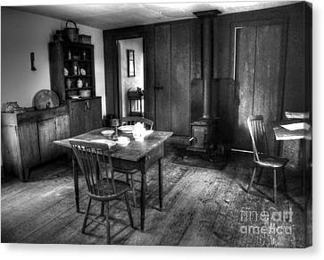 Old Kitchen Canvas Print by Kathleen Struckle