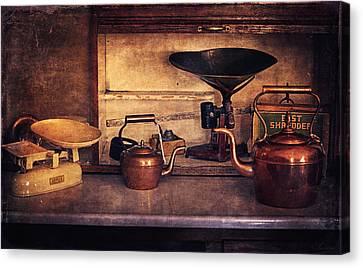 Old Kitchen Utensils Canvas Print