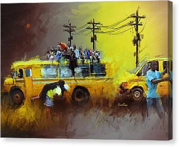 Old Lagos Canvas Print