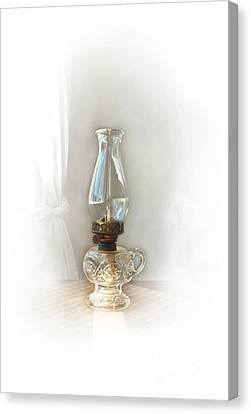 Old Lamp Canvas Print by Sebastian Mathews Szewczyk