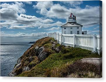 Old Light House Canvas Print by Patrick Boening