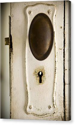 Old Lock Canvas Print by Tim Hester