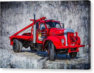 Old Mack Truck Canvas Print by Doug Long