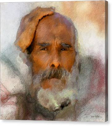 Character Study Canvas Print - Old Man by Bob Galka