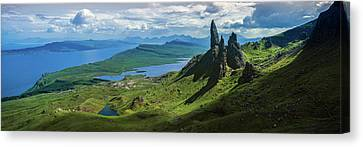 Old Man Of Storr, Trotternish Canvas Print by Panoramic Images