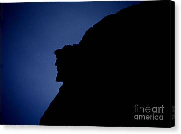 Old Man Of The Mountain - Franconia Notch State Park New Hampshire Canvas Print