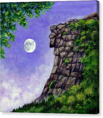 Old Man Of The Mountain Canvas Print
