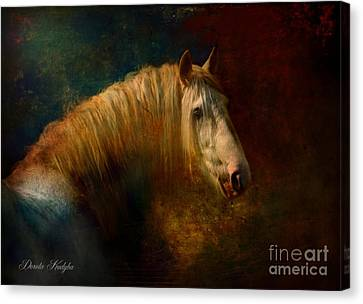 Old Master...himself Canvas Print