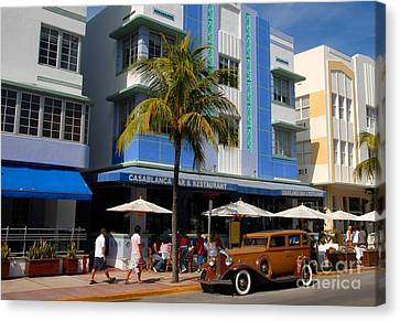 Old Miami Canvas Print by David Lee Thompson