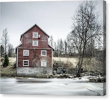 Old Mill 2 Canvas Print by Matti Ollikainen