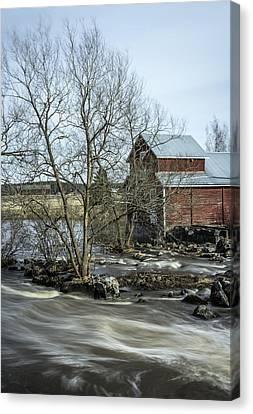 Old Mill 3 Canvas Print by Matti Ollikainen