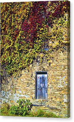 Old Mill Door Canvas Print by Paul W Faust -  Impressions of Light