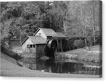 Canvas Print featuring the photograph Virginia's Old Mill by Eric Liller