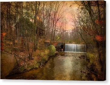 Old Mill Canvas Print by Michael Petrizzo